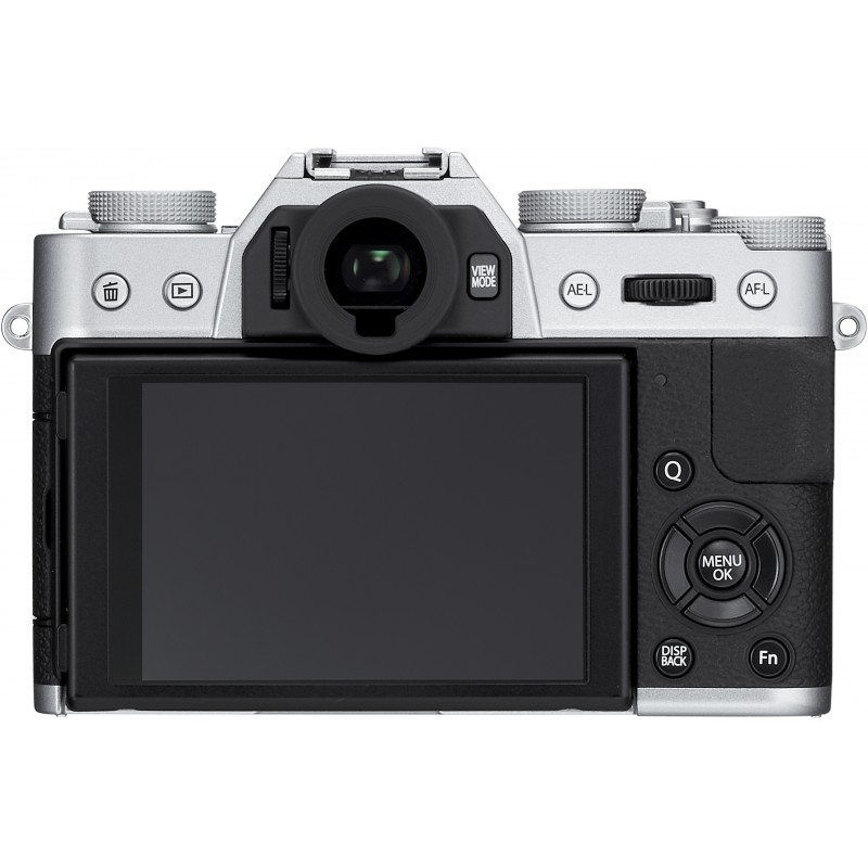 Fujifilm X-T10  kere, hõbedane