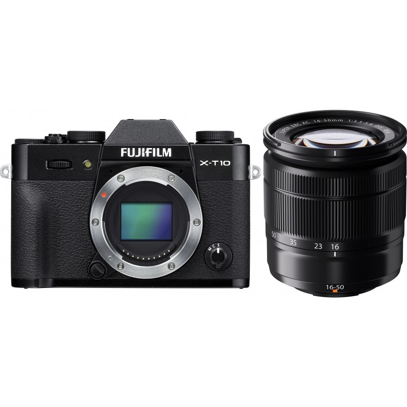Fujifilm X-T10 + 16-50mm Kit, must