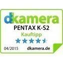 Pentax K-S2 + 18-50мм WR + 50-200мм WR Kit, чёрный/оранжевый