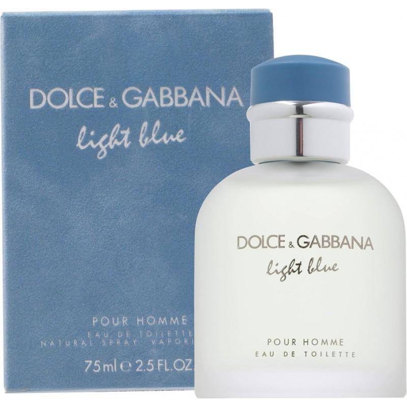 Dolce&Gabbana Light Blue Pour Homme Eau de Toilette 75 мл