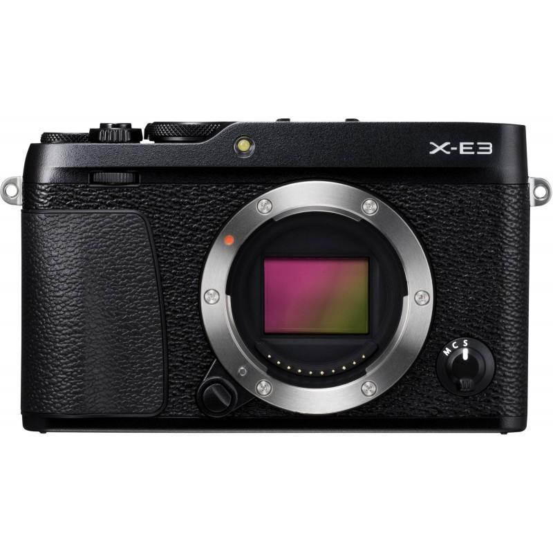 Fujifilm X-E3 + 18-55mm Kit, black