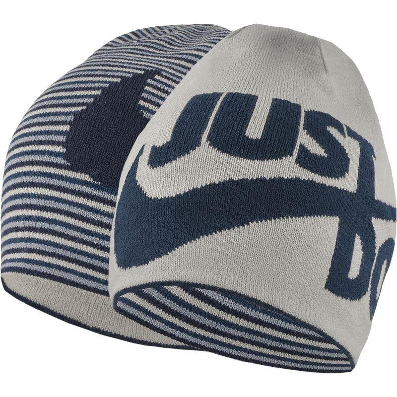 Winter hat for juniors Nike Sportswear Reversible Beanie Junior 851472-013 7b30b30ada1