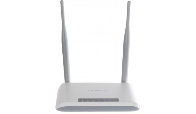 Omega Wi-Fi rūteris 300Mbps (42297)