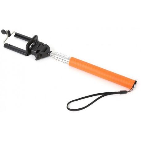 Omega käsistatiiv Selfie Monopod OMMPKO, oranž (43020)