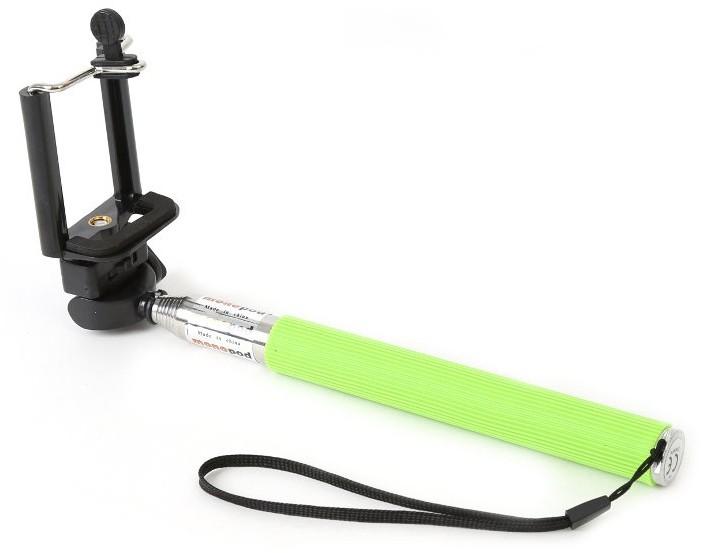 Omega käsistatiiv Selfie Monopod OMMPKG, rohelin..