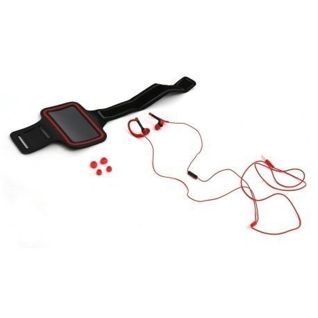 Platinet Universal Sports Kit, red (42930)