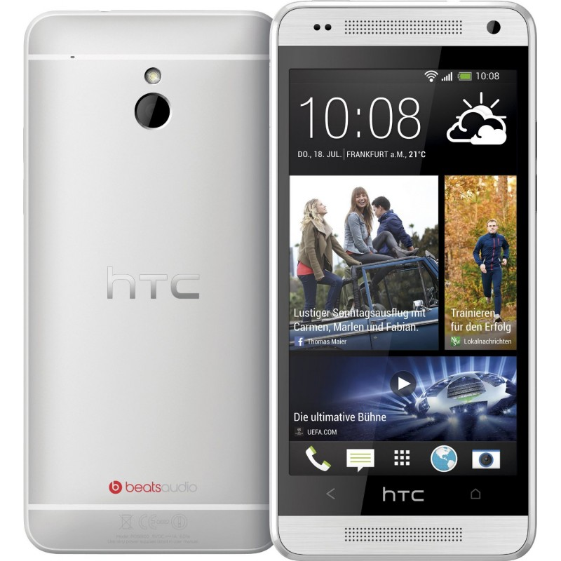 Skinomi TechSkin - HTC One Mini 2 Silver Carbon Fiber Skin ... |Htc One Mini 2 Silver