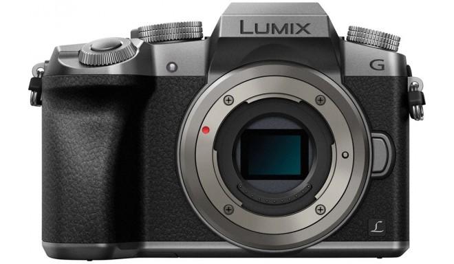 Panasonic Lumix DMC-G7  kere, hõbedane