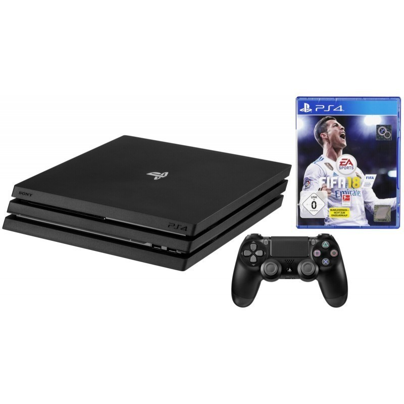 5df234062cd Sony Playstation 4 Pro 1TB + FIFA 18 - Mängukonsoolid - Photopoint