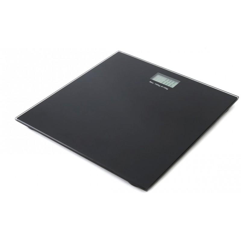 Omega bathroom scale OBSB, black