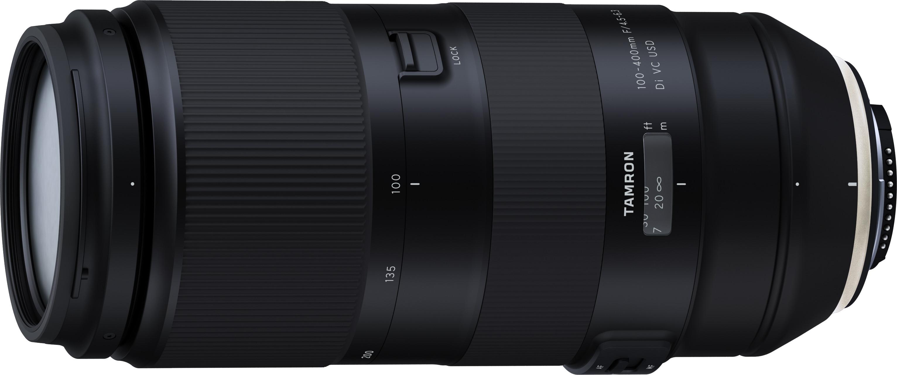 Tamron 100-400mm f/4.5-6.3 Di VC USD obj..