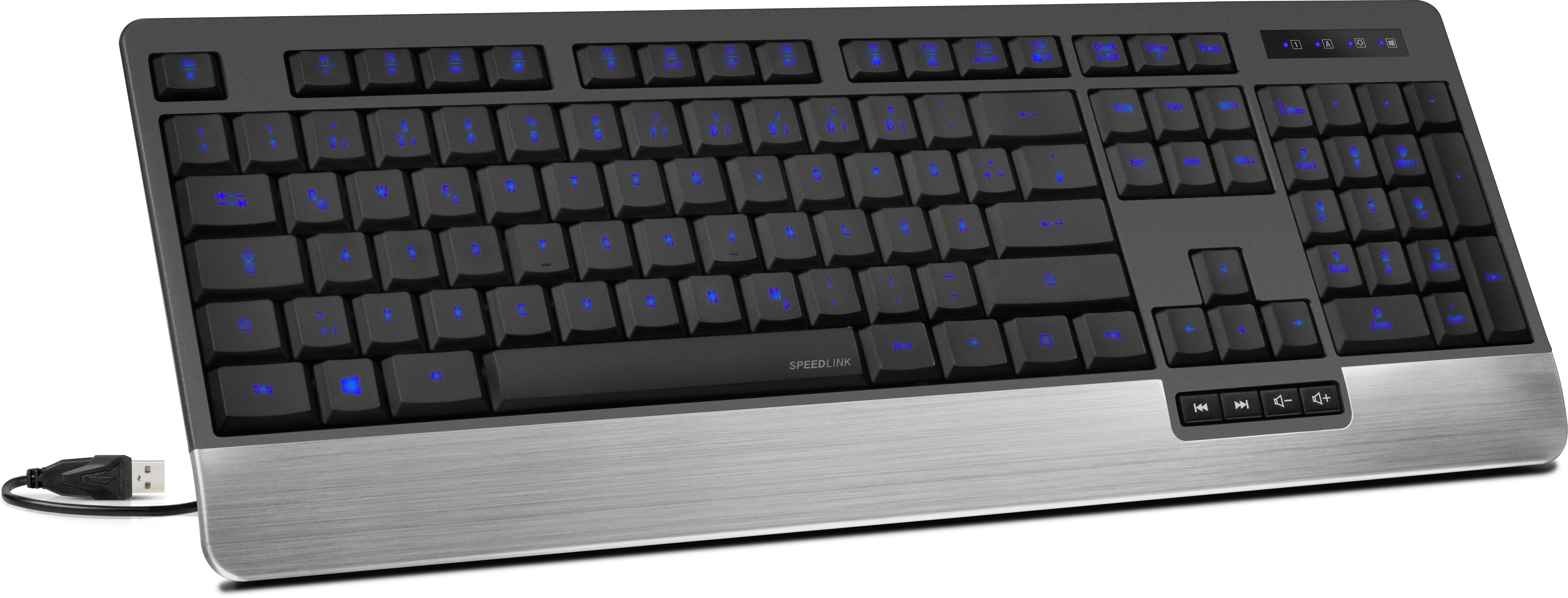 Speedlink klaviatuur Lucidis Illuminated..