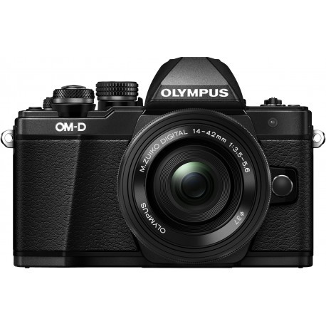 Olympus OM-D E-M10 Mark II + 14-42mm EZ Kit, must