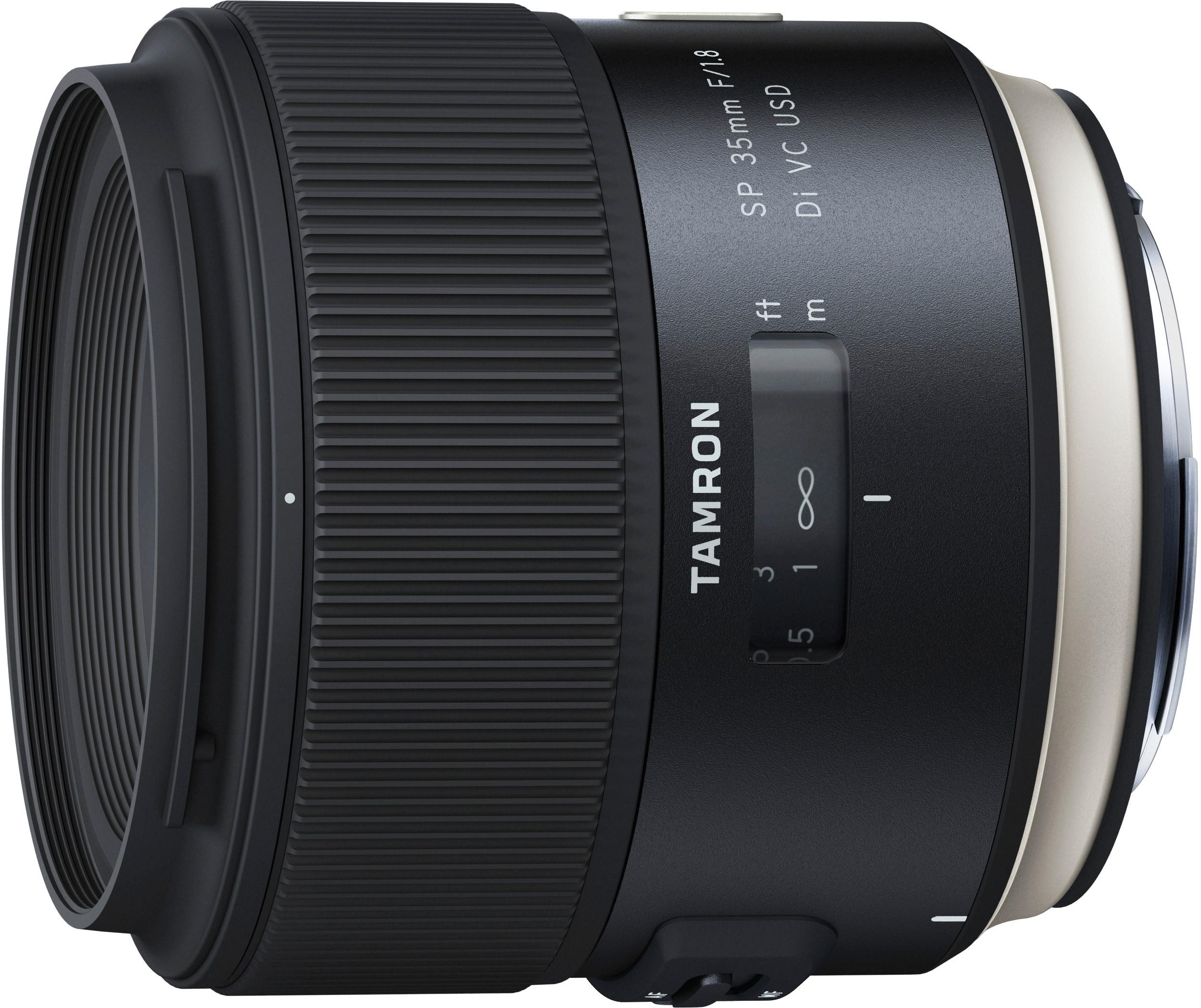 Tamron SP 35mm f/1.8 Di VC USD objektiiv..
