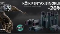 Vaatamise kunst – suur sügisene Pentax binoklite soodusmüük