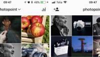 Instagram ähvardab muuta fotogaleriide kolmese asetuse 4×4 peale