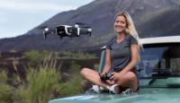 DJI Mavic Air on kompaktne ja intelligentne kaameradroon mis salvestab 12 MP fotosid ja 100Mbps 4K videot