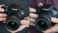Karbist välja: Canon EOS 2000D ja 4000D peegelkaamerad