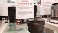 Nüüd on rentimiseks saadaval Sigma adapter MC-11 Canon EF – Sony E