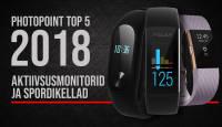Photopointi TOP 5 – enim ostetud aktiivsusmonitorid ja spordikellad aastal 2018