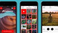 Vali fotod ja alusta – valminud on PhotoExpress Online äpp iOS seadmetele