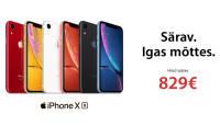 Alati särav Apple iPhone XR on saadaval soodushinnaga alates 829€