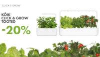#идеяподаркадлямамы — все Click and Grow товары на 20% дешевле