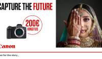 Canon EOS R ostul saad kingituseks 200€ kinkekaardi