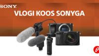 Ideaalse vlogkaamera Sony a6600 või a6400 ostul saad väärtuslikud kingitused