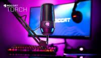 Roccat tutvustas oma esimest profitasemel mikrofoni Torch